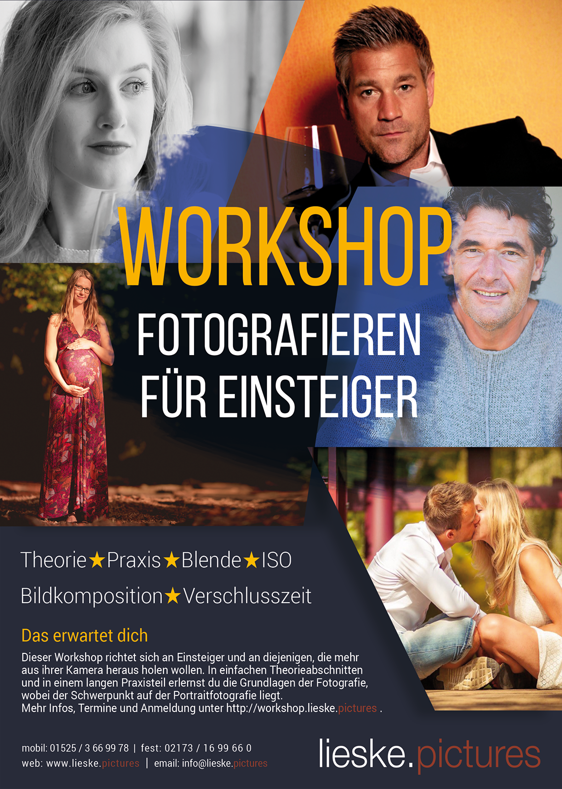 Flyer füt Fotografie-Workshop